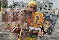 A homeless man sells the Big Issue on the streets of Osaka