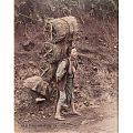 1890s • Woman Carrying Charcoal